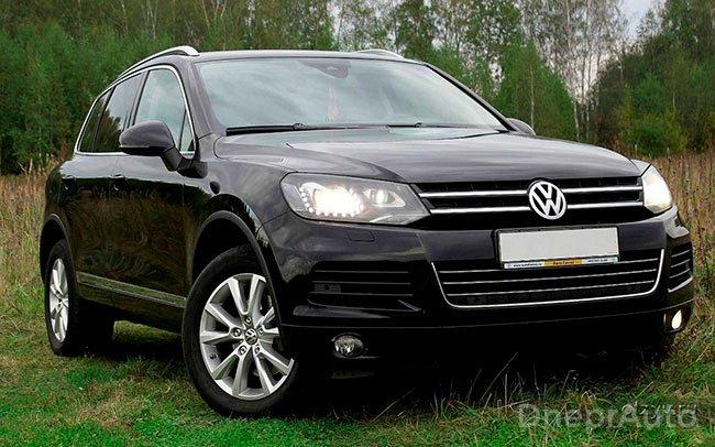 Аренда Volkswagen Touareg New на свадьбу Дніпро