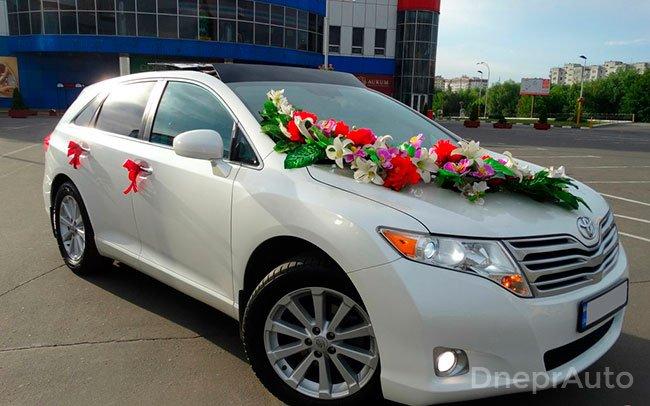 Аренда Toyota Venza на свадьбу Дніпро