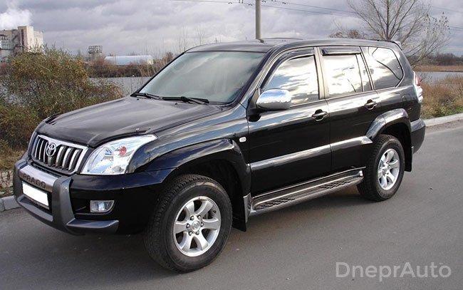 Аренда Toyota Land Cruiser Prado на свадьбу Днепр