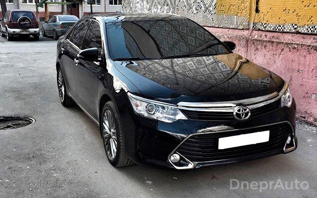 Аренда Toyota Camry 50 на свадьбу Днепр