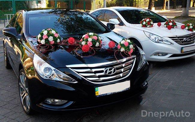 Аренда Hyundai Sonata New на свадьбу Днепр