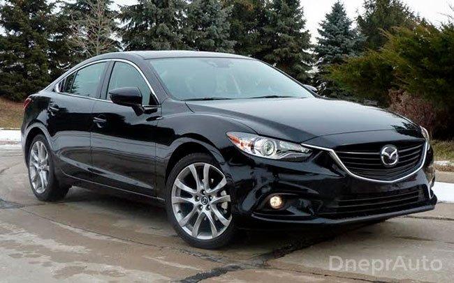 Аренда Mazda 6 New на свадьбу Днепр