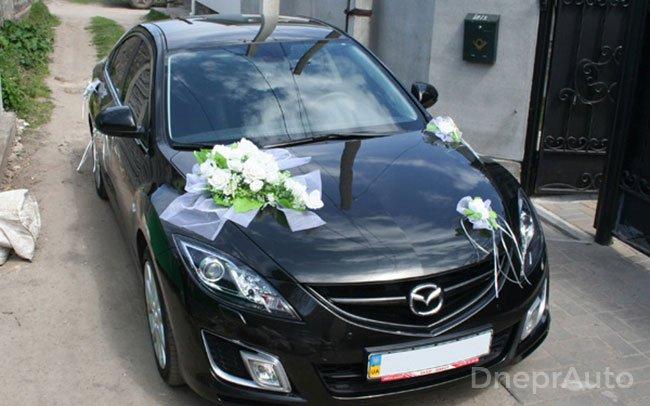 Аренда Mazda 6 на свадьбу Днепр