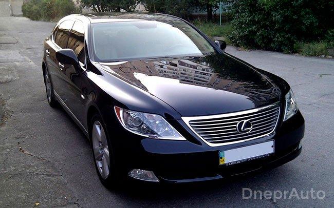 Аренда Lexus LS на свадьбу Дніпро