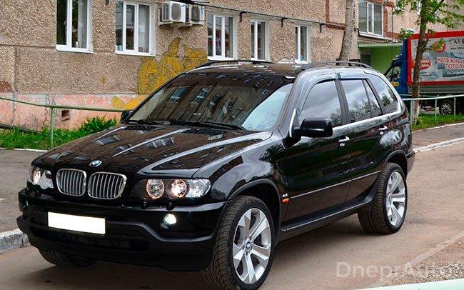 Аренда BMW X5 E53 на свадьбу Дніпро