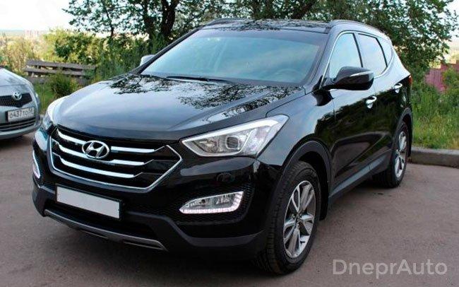 Аренда Hyundai Santa Fe на свадьбу Дніпро