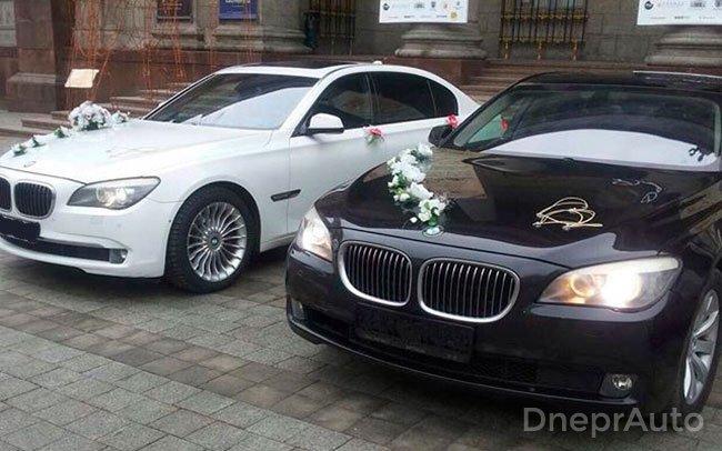Аренда BMW 7 на свадьбу Дніпро