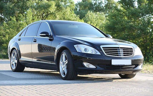 Аренда Mercedes S-Class W221 на свадьбу Дніпро