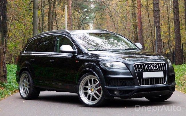 Аренда Audi Q7 на свадьбу Дніпро