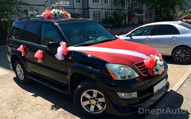 Аренда Lexus GX на свадьбу Дніпро