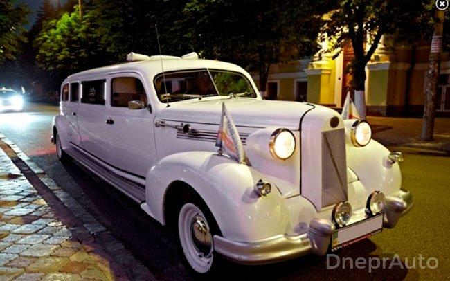 Аренда Лимузин Oldsmobile на свадьбу Днепр
