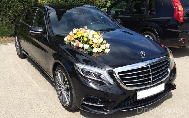 Аренда Mercedes Benz W222 на свадьбу Дніпро
