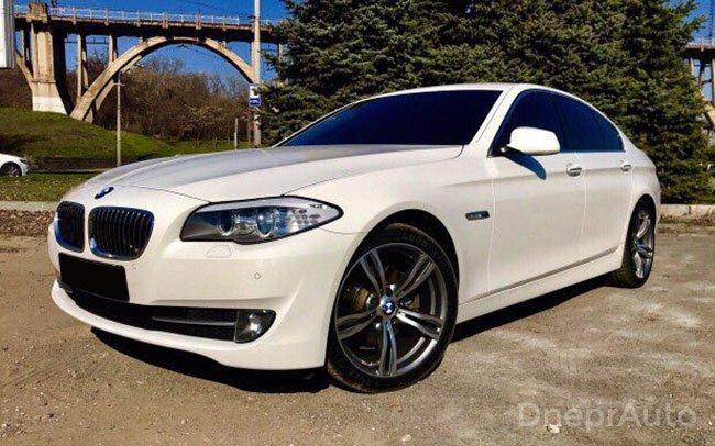 Аренда BMW 5 на свадьбу Дніпро