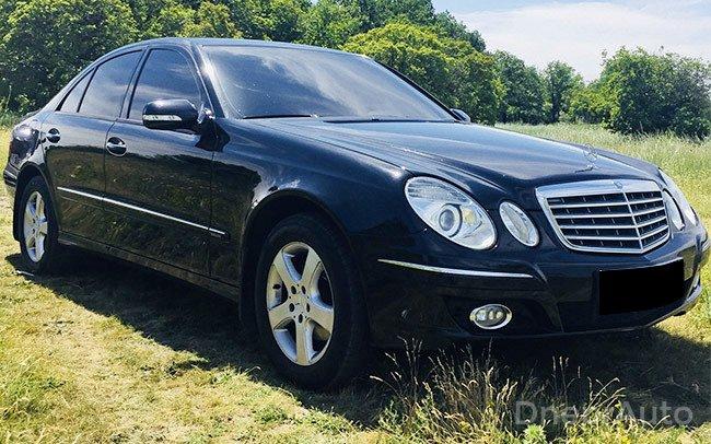 Аренда Mercedes W211 на свадьбу Дніпро