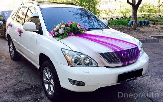 Аренда Lexus RX 350 на свадьбу Дніпро