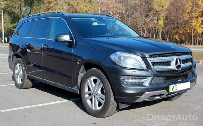 Аренда Mercedes GL New на свадьбу Днепр