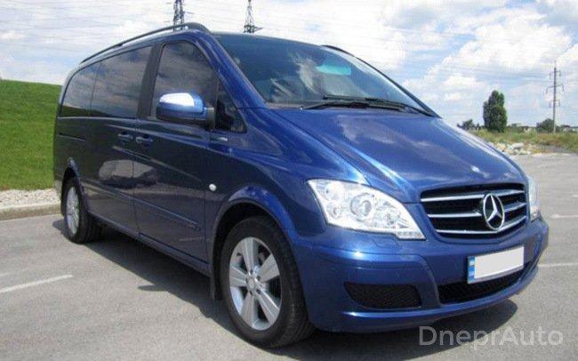 Аренда Микроавтобус Mercedes Viano VIP на свадьбу Днепр