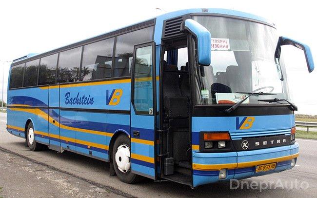 Аренда Автобус Setra S250 на свадьбу Днепр