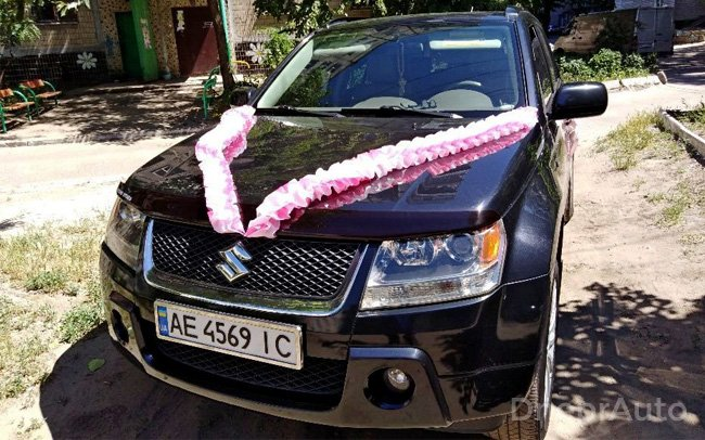 Аренда Suzuki Grand Vitara на свадьбу Днепр