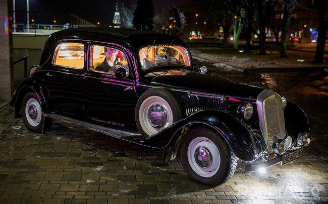 Аренда Ретро Mercedes на свадьбу Дніпро
