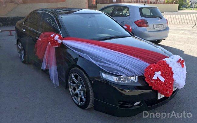 Аренда Honda Accord на свадьбу Дніпро