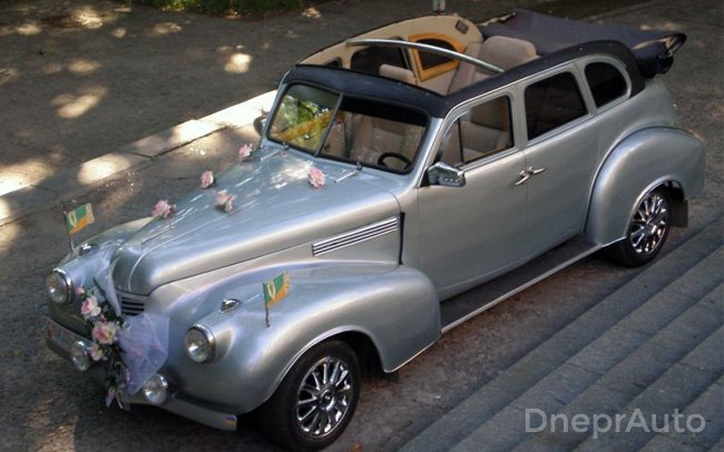 Аренда Ретро Кабриолет DKV на свадьбу Дніпро