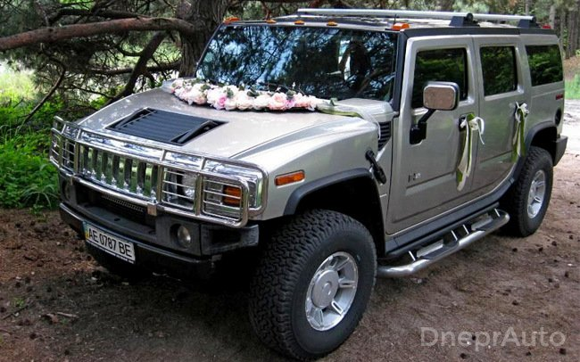 Аренда Hummer H2 на свадьбу Днепр