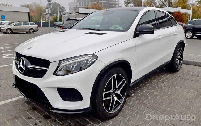 Аренда Mercedes GLE Coupe на свадьбу Дніпро